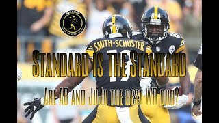 Standard is the Standard: Are AB and JuJu the best WR duo in the NFL?