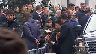 Cumhurbaşkanı Erdoğan AK Parti İl Başkanlığını Ziyaret Etti