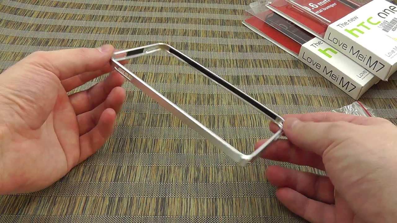 ОБЗОР: Практичный Силиконовый Чехол-Накладка для HTC One Mini (M4 .