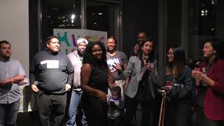 After School All Stars Reception at Pro Arts Gallery  12/6/17