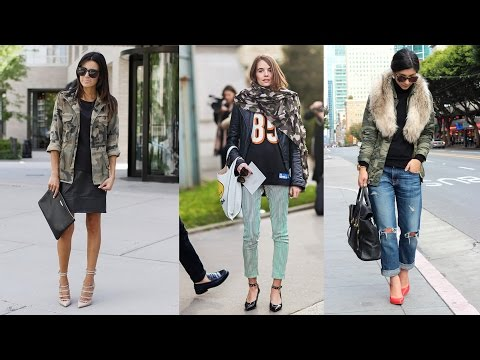 40 Ways to Wear Camo Like a Fashion Girl