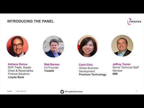 Webinar: The Automated Future - Digitalization of Trade & Supply Chain Finance