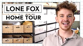 Drew Scott of Lone Fox Shows How He Keeps His Studio Organized | Good Housekeeping