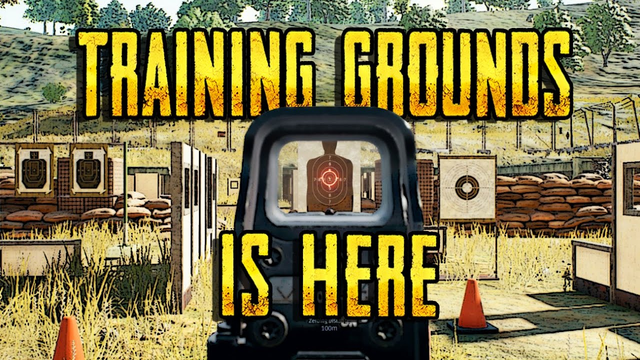 TRAINING GROUNDS   PLAYERUNKNOWN S BATTLEGROUNDS PRACTICE MODE     TRAINING GROUNDS   PLAYERUNKNOWN S BATTLEGROUNDS PRACTICE MODE   FIRING  RANGE MOD COMING SOON