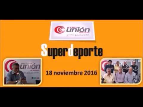 SuperDeporte – Entrevista a Miguel Angel Salino (18.NOV.16)