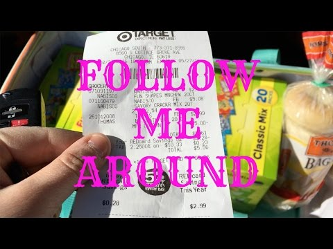 Follow Me Around Target, Meijer, and Jewel-Osco