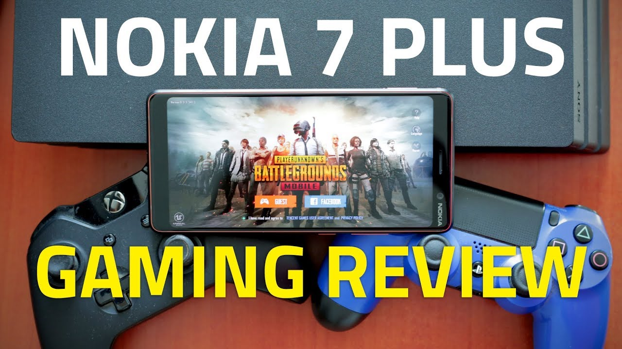 Nokia 7 Plus Gaming Review ???? How Well Do PUBG, Asphalt 8, and Other Heavy Games Perform?