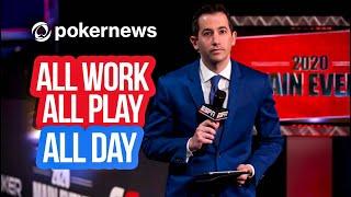 WSOP 2021   Work or Play? PokerGo's Jeff Platt Leads Tournament!   Interview