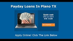 Payday Loans Plano, TX  | Online Cash Advance