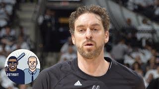 Spurs Overpaid For Pau Gasol   Jalen & Jacoby   ESPN