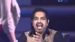 SRK & Shreya Ghoshal (Amul music ka Maha MUQabla) - YouTube.flv