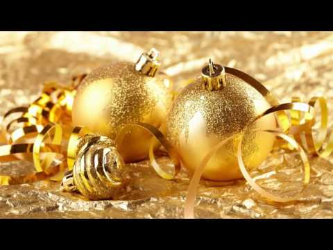 Обои для рабочего стола на тему Новогодние украшения (Золото и Серебро)