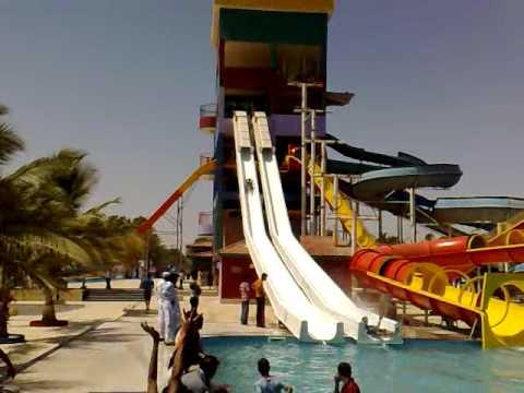 Water slide at (SUNWAY LAGOON WATER PARK GHARO)