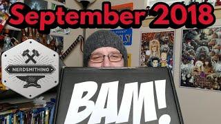 Unboxing The Bam box September