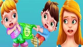 İkiz Bebekler Yaramazlık Peşinde #Çizgifilm Tadında Yeni Oyun