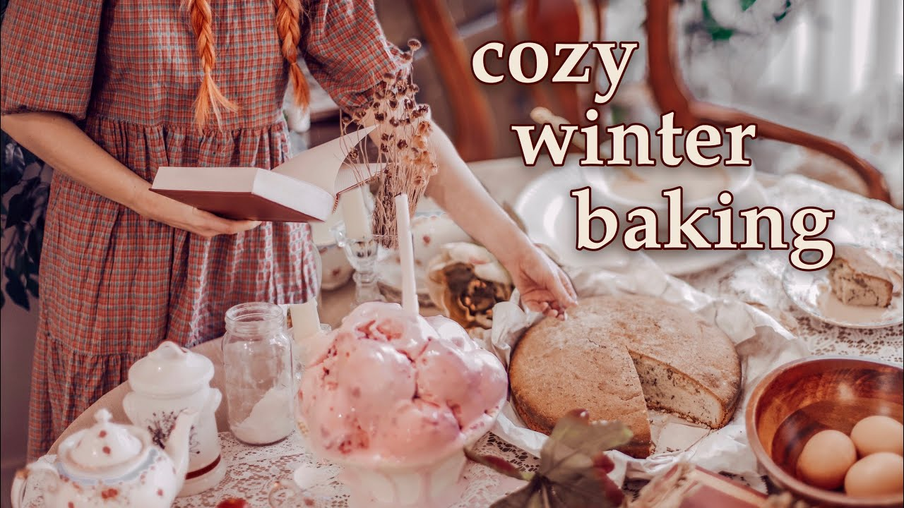 Cozy Cottage Baking Foods from Little Women, The Hobbit & more | Simple Living | Vintage vibes