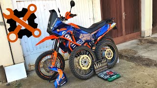 My KTM has 4 wheels - What's the point?