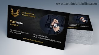 Gambar cover how to make business cards in word - bleed and print ready