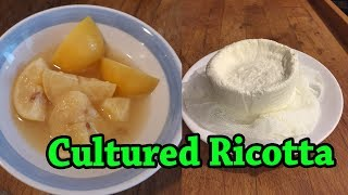 Cultured Ricotta | Fermented Cheese Experiment for Beginners
