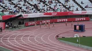 第101回日本陸上競技選手権大会 2016/06/25 ヤンマースタジアム長居 女子 200...