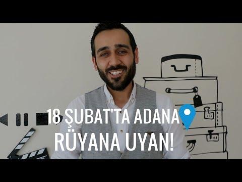 18 Şubat'ta Adana'dayız | YKS'ye 4 Ay Kala Rüyana Uyan Semineri