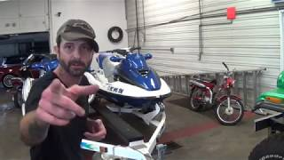 POWERSPORTS BATTERY - SEADOO BOMBARDIER GTX BATTERY - NEW JET SKI BATTERY INSTALLATION