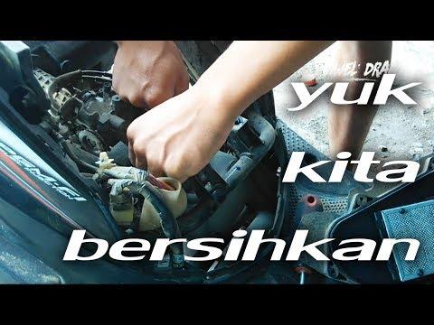 Cara Membersihkan Komponen Injektor Honda Beat PGM FI ESP