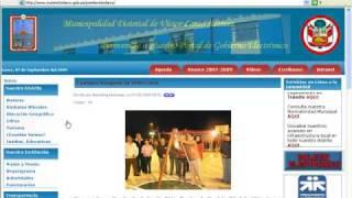 Ejecucion Presupuestal de Municipalidad Victor Larco Herrera segun MEF