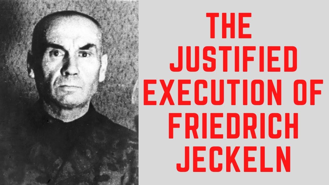 The JUSTIFIED Execution Of Friedrich Jeckeln - The Einsatzgruppen Commander