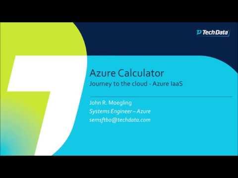 [TRAINING + DEMO] Microsoft Azure Calculator + Cost Estimate