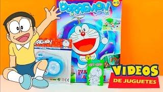 Revista Doraemon en español con juguete de regalo
