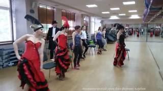 тематический урок танца - Кабаре - групповые занятия для  фитнес-клубов