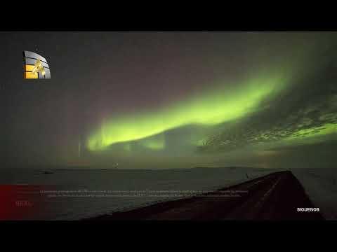 Tormenta Solar y Auroras boreales│La Tierra entra en una severa tormenta solar