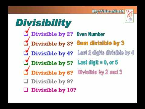 Divisibility Rules Worksheets Grade 6 & divisibility game knowledge