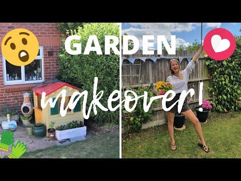 Garden Makeover On A Budget! DIY Herb Garden, Planting Vegetables – Small Garden Update July 2020