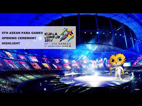 Malaysia | 9th ASEAN PARA Games KL 2017 Opening Ceremony | Highlight | 4K
