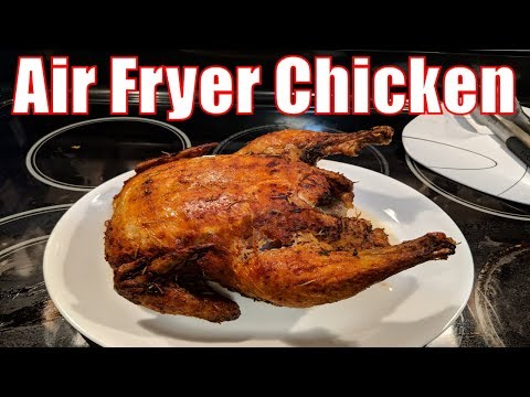 GoWISE USA Air Fryer - The Whole Chicken and nothing but the Chicken