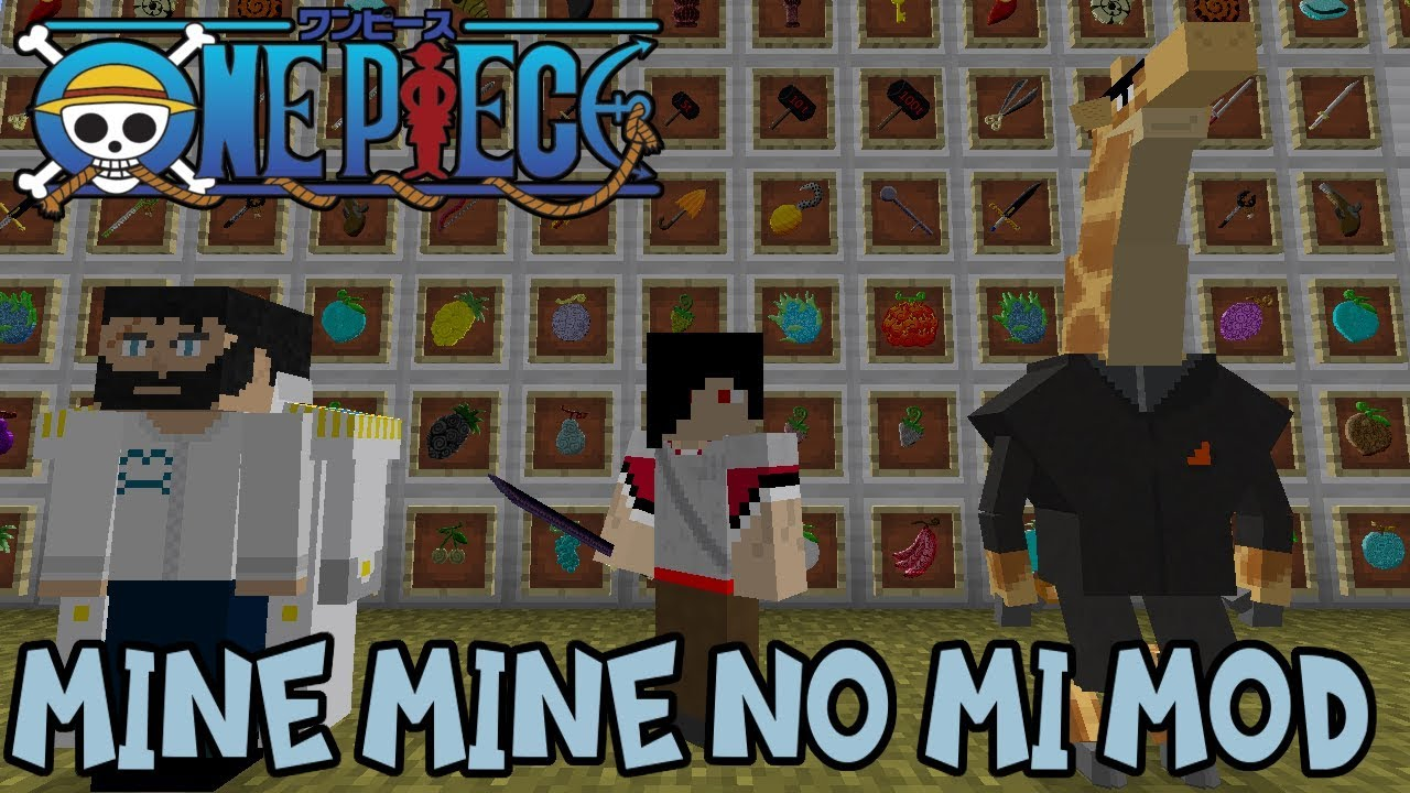 || minecraft one piece craft mod reviewbecome a member. New Devil Fruits Haki Abilities More Minecraft One Piece Mod Review Mine Mine No Mi Mod Youtube