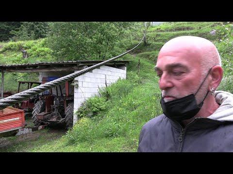 """Funivia Stresa-Mottarone, la casa sotto alla funivia: """"I cavi spezzati sono arrivati nel giardino"""""""