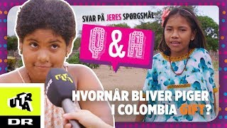 Hvornår bliver piger i Colombia gift? Svar på JERES spørgsmål | Klassen | Ultra