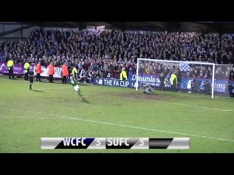 FA Cup Record Breaking Penalty Shoot Out Worcester City V Scunthorpe United FA Cup