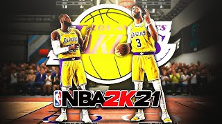 99 OVR LEBRON JAMES and ANTHONY DAVIS are UNSTOPPABLE in NBA 2K21