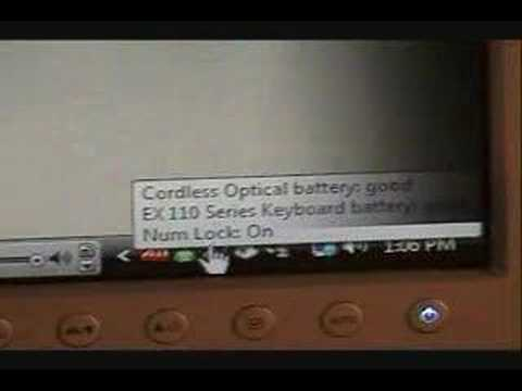 Video Review 2 Logitech EX110 Cordless Desktop