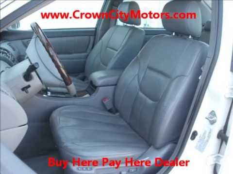 Used 2003 Toyota Avalon for sale in Pasadena, CA, www.CrownCityMotors.com