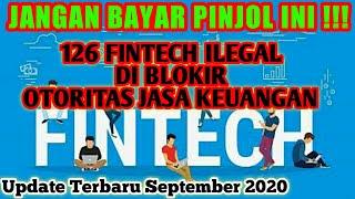 126 Pinjol Ilegal Diblokir Ojk Pinjaman Online Ilegal Diblokir Ojk Terbaru September 2020 Youtube