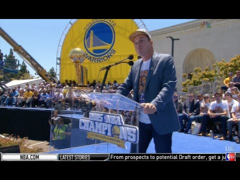 Joe Lacob title speech