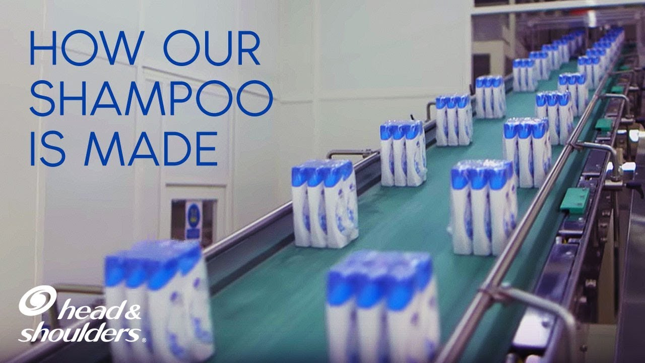 How the world's most popular shampoo is made   Head & Shoulders