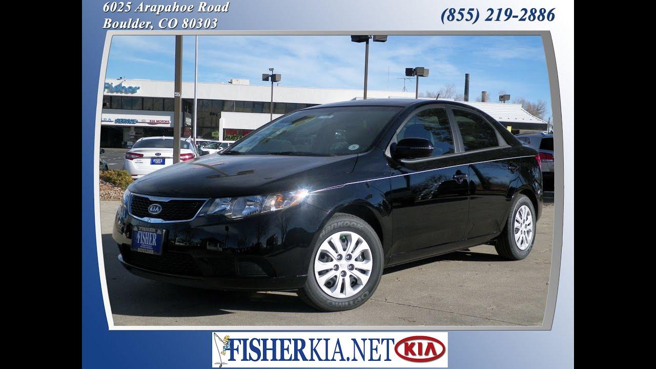 2013 Kia Forte EX Black | $17,554 | Boulder, Colorado | Fisher Auto (Stock  #131449)