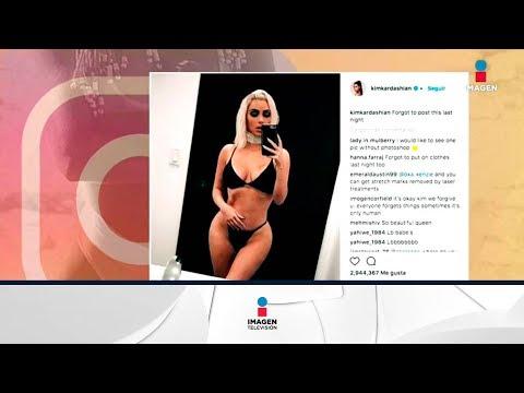 Kim Kardashian presume su pequeña cintura en Instagram | Noticias con Francisco Zea