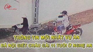 Thông tin mới về vụ án bà giết cháu ở Nghệ An